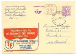 2562 N - P010 - Stempel Mariakerke - Stamped Stationery
