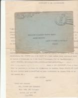 G 1 - Enveloppe Avec Cachet A.P.O.154 Avec Lettre écrite En Français - MILITARY POLICE - STUTTGART - Guerre De 1939-45