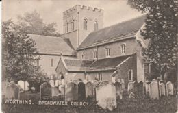 Postcard - Worthing - Broadwater Church C1921 Used But Never Posted Very Good - Postcards