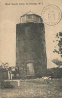 Danish West Indies St Thomas W.I.  Black Beards Tower  Lighthouse ?  Used 1912 To Jovellanos Cuba  Edit Fraas Serie No 2 - Vierges (Iles), Amér.