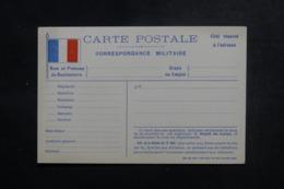 FRANCE -  Carte FM Non Utilisé - L 47407 - Marcophilie (Lettres)