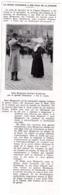 1927 Légion D'Honneur à Une Fille De La Charité Soeur Marguerite Décorée à Strasbourg Par Le Général Hirschauer TBE - Zonder Classificatie