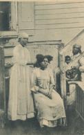 Negresses Des Antilles Americaines Coiffure Mission  ST Augustin Louvain Belgique Eyseringen , Roulers - Vierges (Iles), Amér.