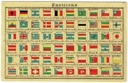 Pavillons. Drapeaux. Flags. Vlaggen. Edition Rinquet. - Storia