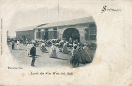 Suriname Paramaribo Loods Der Kon. West. Ind. Mail  Edit Kersten - Surinam