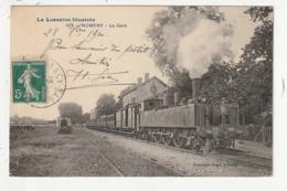 NOMENY - LA GARE - TRAIN - 54 - Nomeny