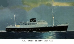 M.V. IRISH COAST Orion, Orient Line. CARGO SHIP - Steamers