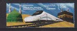 Spain (2018) - Set -  / Trains - Locomotives - Train - Trenes - Treni - Eisenbahn - UNUSUAL - Touch - Eisenbahnen