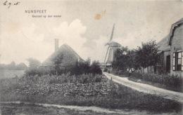 Windmolen Windmill  Molen Nunspeet Gezicht Op Den Molen   Nederland   Barry 1072 - Moulins à Vent