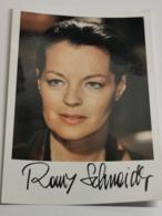 Photo, Romy Schneider . Signé. Signed - Handtekening