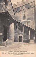 Cartolina Firenze Palazzetto Guelfa Timbro A Targhetta Digerini Marinai & C 1924 - Firenze