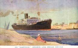 S.S. CASTALIA Orion, Orient Line. CARGO SHIP - Steamers