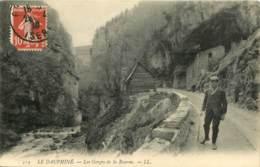 38 - LE DAUPHINE - LES GORGES DE LA BOURNE - Frankreich