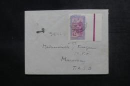 MADAGASCAR - Enveloppe Pour Marovoay En 1938, Affranchissement Plaisant , Cachet De Taxe - L 47414 - Madagaskar (1889-1960)