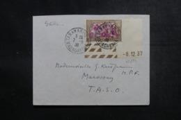 MADAGASCAR - Enveloppe De Tananarive Pour Marovoay En 1938, Affranchissement Plaisant Coin De Feuille Daté - L 47415 - Madagaskar (1889-1960)