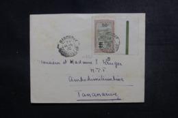 MADAGASCAR - Enveloppe De Marovoay Pour Tananarive En 1933, Affranchissement Plaisant - L 47416 - Madagaskar (1889-1960)