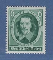 Deutsches Reich 1936 Todestag O. V. Guericke Mi.-Nr. 608 Einwandfrei ** - Deutschland