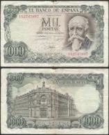 "SPAIN - 1000 Pesetas 1971 (1974) ""Jose Echegaray"" P# 154 - Edelweiss Coins - [ 3] 1936-1975: Regime Van Franco"