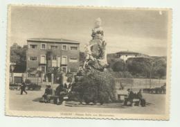 IGLESIAS - PIAZZA SELLA CON MONUMENTO  VIAGGIATA FG - Iglesias