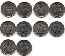 Sierra Leone - 5 Pcs х 10 Cents 1984 UNC Lemberg-Zp - Sierra Leona