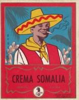 Crema Somalia - Gubra - Etiketten