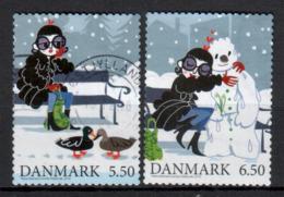 DÄNEMARK - 2010 - MiNr. 1624 + 1625 BA - Used - Gestempelt - Danimarca
