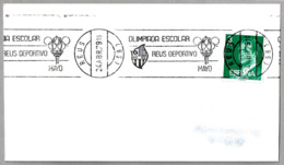 OLIMPIADA ESCOLAR REUS DEPORTIVO - SCHOOL OLYMPICS. Reus, Tarragona, 1979 - Otros
