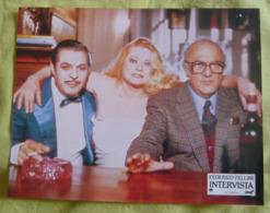 12 Photos Du Film Intervista (1987) - Fellini - Albums & Collections