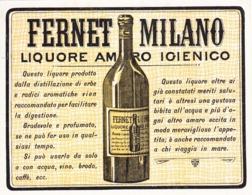 Fernet Milano - Liquore Amaro - Etiketten