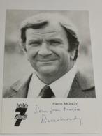 Pierre Mondy . Signé. Signed - Autografi