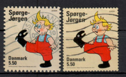 DÄNEMARK - 2010 - MiNr. 1596 BA + BD - Europa - Used - Gestempelt - Danimarca