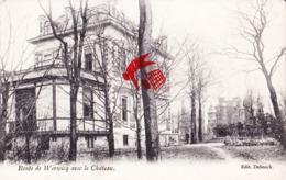 Route De WERWICQ Avec Le Château - Wervik