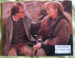 6 Photos Du Film Crimes Et Délits (1990) - Woody Allen - Albums & Collections