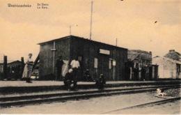 Westroosebeke De Statie La Gare Du Train Animation N°146 - Belgique