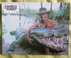 12 Photos Du Film Crocodile Dundee (1987) - Albums & Collections