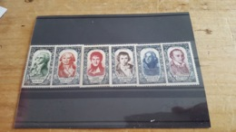 LOT 479031 TIMBRE DE FRANCE NEUF** LUXE N°867 A 872 - Unused Stamps