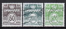 DÄNEMARK - 2010 - MiNr. 1575+1577+1578 - Used - Gestempelt - Danimarca
