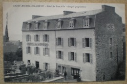 1 CPA 22 SAINT MICHEL EN GREVE Hôtel Du Lion D'or Guégou Propriétaire - Other Municipalities