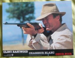 12 Photos Du Film Chasseur Blanc, Cœur Noir (1990) - Eastwood - Albums & Collections