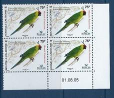 "Nle-Caledonie Coins Datés YT 948 "" Oiseaux "" Neuf** Du 01.08.2005 - New Caledonia"