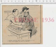 Humour Papier Hygiénique Papier De Verre Parfumerie Grand Magasin Flacons Anciens Parfum CHV20 - Oude Documenten