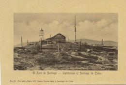 El Faro De Santiago . Lighthouse . Phare . No Postcard Back - Cuba