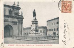 URBINO-PIAZZA DUCA FEDERICO - Urbino