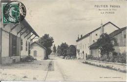 88 - Vosges - La Forge - Peltier Marchand De Vins - Tramway Remiremont Gerardmer - Autres Communes
