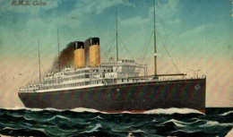R.M.S. CELTIC Orion, Orient Line. CARGO SHIP - Paquebote