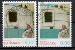 DÄNEMARK - 2011 - MiNr. 1641 BA + BC - Used - Gestempelt - Danimarca