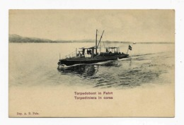 Pola ,Pula Torpedoboot Marine Torpediniera In Corsa  Ca. 1907y.    D172 - Croazia