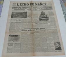 L'écho De Nancy Du 19 Février 1942. - Riviste & Giornali