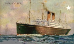 R.M.S. BALTIC Orion, Orient Line. CARGO SHIP - Paquebote