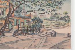 Barré & Dayez. Illustrateurs: Lucien Baubaut. PARIS (75018). Le Lapin à Gille Et Le Vignoble De Montmartre. N° 2302 E - Cafés, Hôtels, Restaurants